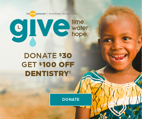Donate $30, Get $100 Off Dentistry - Dentists of South Jordan and Orthodontics